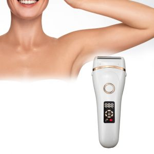 USB Electric Waterproof Hair Trimmer Epilator with LCD Display