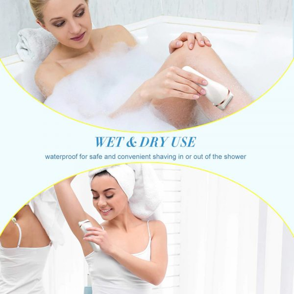 USB Electric Waterproof Hair Trimmer Epilator with LCD Display_16
