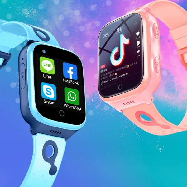 A68S 4G Children's SOS Smart Phone Watch with Smart Positioning_2