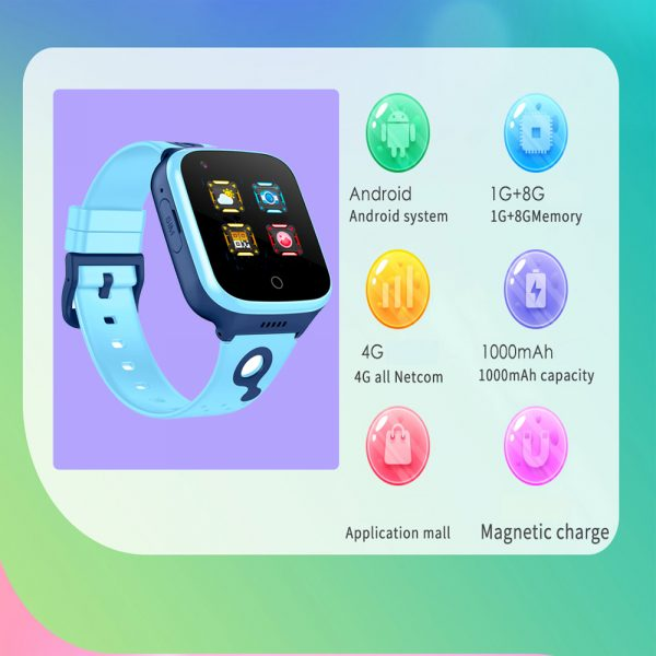 A68S 4G Children's SOS Smart Phone Watch with Smart Positioning_5