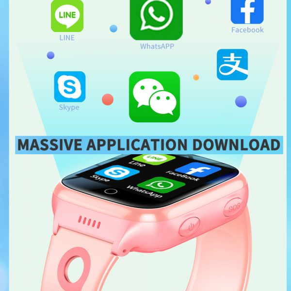 A68S 4G Children's SOS Smart Phone Watch with Smart Positioning_7