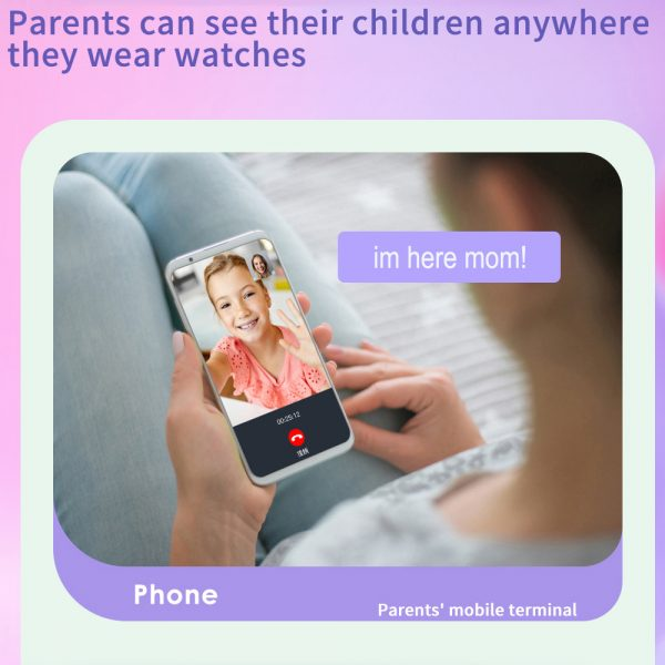 A68S 4G Children's SOS Smart Phone Watch with Smart Positioning_8