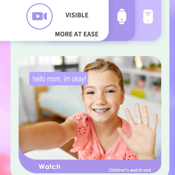 A68S 4G Children's SOS Smart Phone Watch with Smart Positioning_9