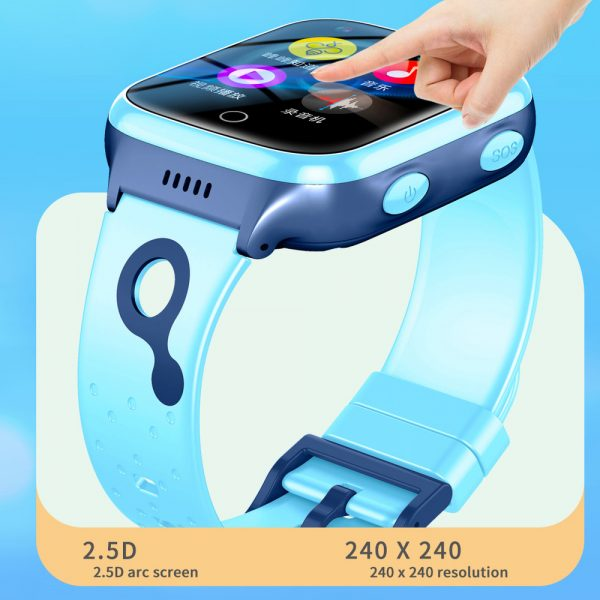 A68S 4G Children's SOS Smart Phone Watch with Smart Positioning_10