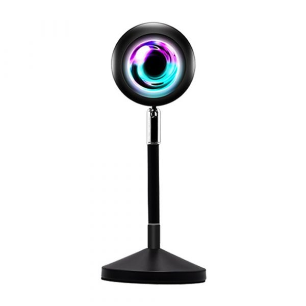 USB Plugged-in Remote Controlled 16 Colors LED Sunset Light Projector_1