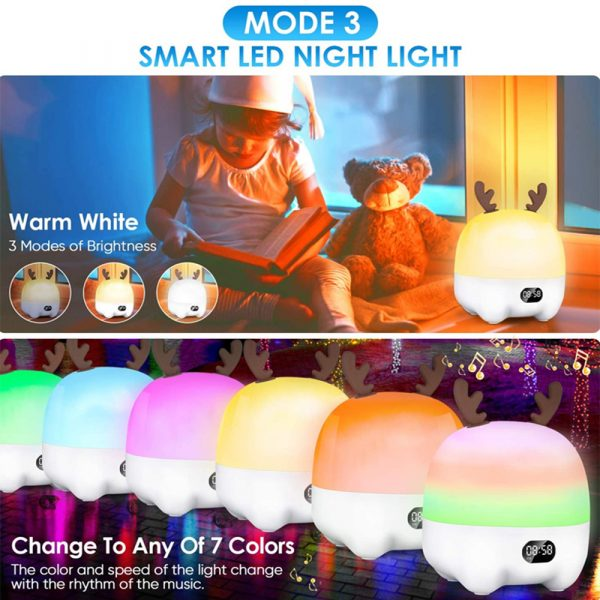 Multifunctional LED Light Projector and Bluetooth Music Lamp_3
