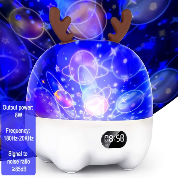 Multifunctional LED Light Projector and Bluetooth Music Lamp_9