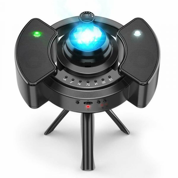 Galaxy Star Light Projector with Bluetooth Speaker Function_0