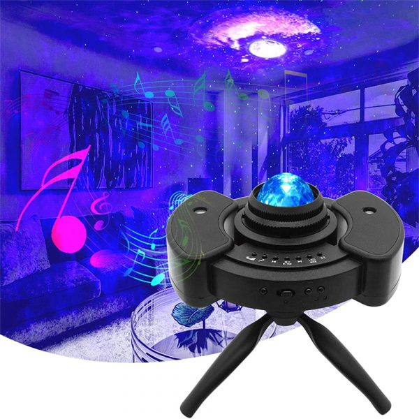 Galaxy Star Light Projector with Bluetooth Speaker Function_3