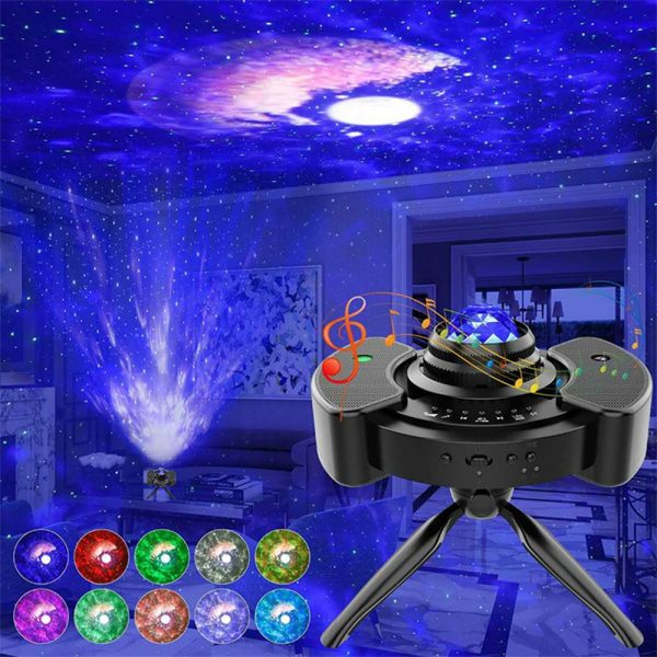 Galaxy Star Light Projector with Bluetooth Speaker Function_4