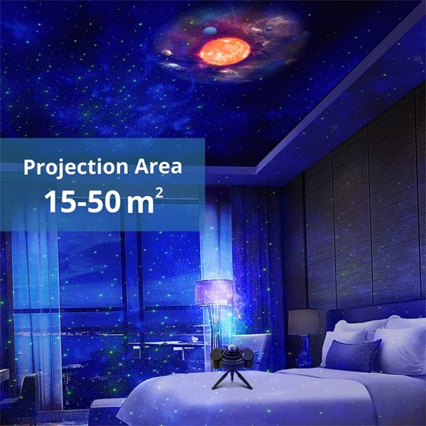Galaxy Star Light Projector with Bluetooth Speaker Function_14