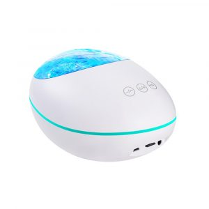 Remote Controlled 3-in-1 Galaxy Star Night Light with White Noise
