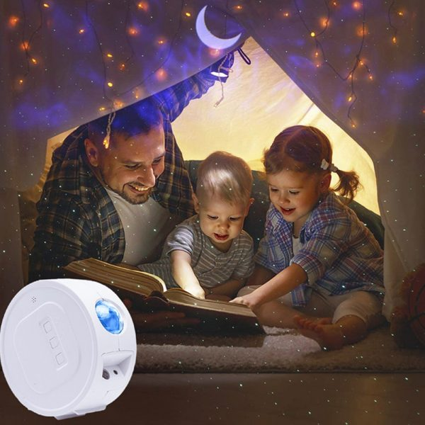 3-in-1 Nebula Moon and Starry Night Sky LED Light Projector_2
