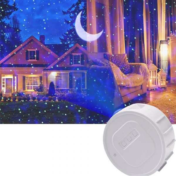 3-in-1 Nebula Moon and Starry Night Sky LED Light Projector_3