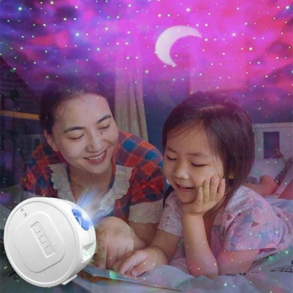 3-in-1 Nebula Moon and Starry Night Sky LED Light Projector_10