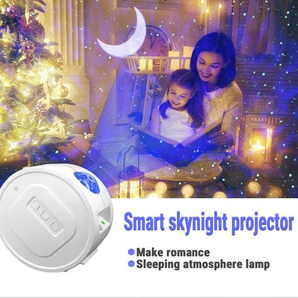 3-in-1 Nebula Moon and Starry Night Sky LED Light Projector_5
