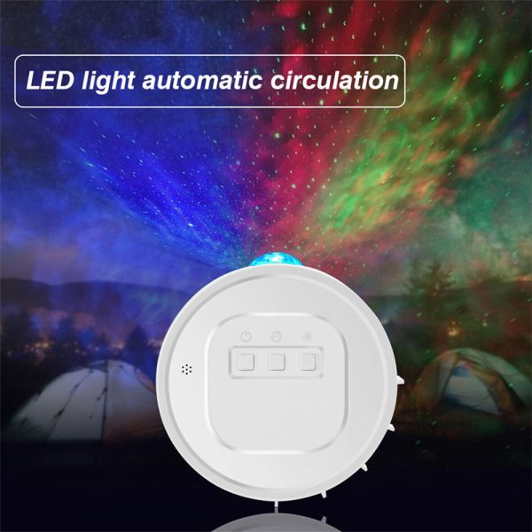 3-in-1 Nebula Moon and Starry Night Sky LED Light Projector_7