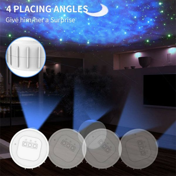 3-in-1 Nebula Moon and Starry Night Sky LED Light Projector_8