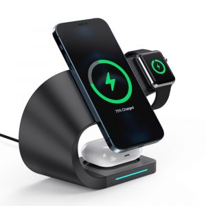 4-in-1 Multifunctional Fast Charging Magnetic Wireless Charger