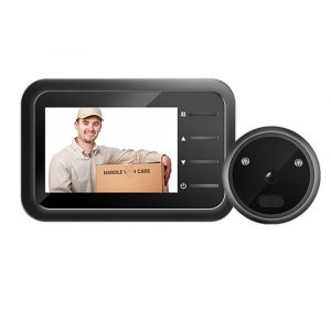 Electronic Anti-theft Doorbell and Anti-prying Home Security Camera