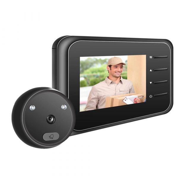 Electronic Anti-theft Doorbell and Anti-prying Home Security Camera_1