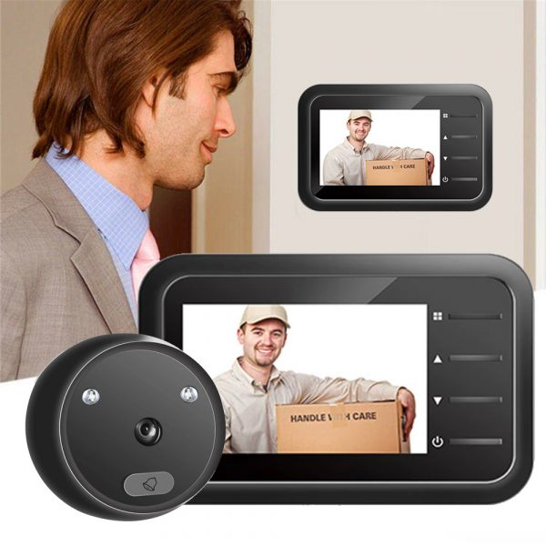 Electronic Anti-theft Doorbell and Anti-prying Home Security Camera_2