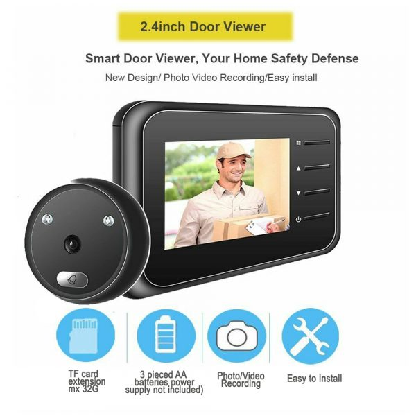 Electronic Anti-theft Doorbell and Anti-prying Home Security Camera_4