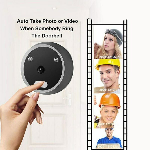 Electronic Anti-theft Doorbell and Anti-prying Home Security Camera_6