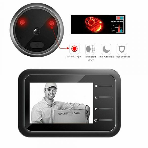 Electronic Anti-theft Doorbell and Anti-prying Home Security Camera_7