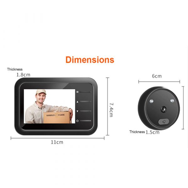 Electronic Anti-theft Doorbell and Anti-prying Home Security Camera_10