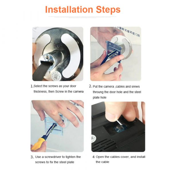 Electronic Anti-theft Doorbell and Anti-prying Home Security Camera_11
