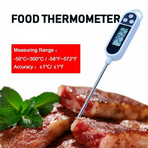 Instant Read Digital Food Meat Thermometer with LCD Display_5