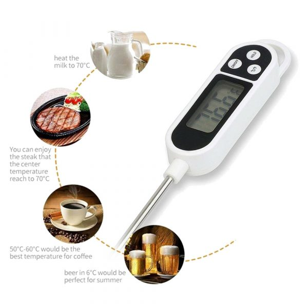 Instant Read Digital Food Meat Thermometer with LCD Display_6