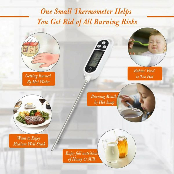 Instant Read Digital Food Meat Thermometer with LCD Display_10