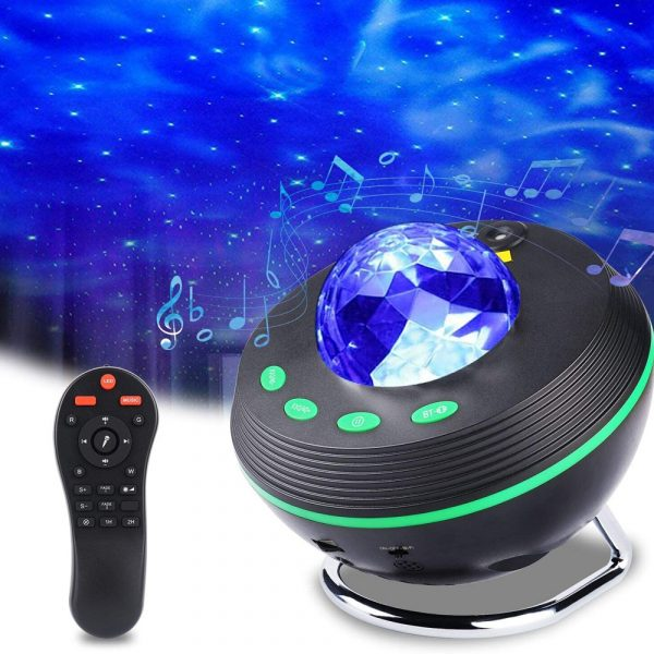 Galaxy Projector and Bluetooth Speaker Remote and Voice Control_2