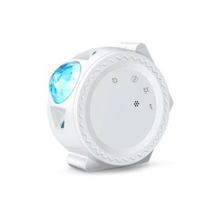 LED Night Light Wi-Fi Enabled Star Projector with Nebula Cloud