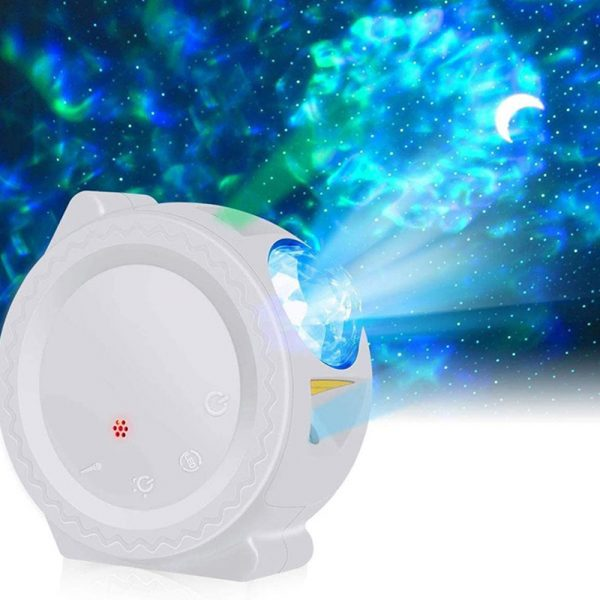 LED Night Light Wi-Fi Enabled Star Projector with Nebula Cloud_3