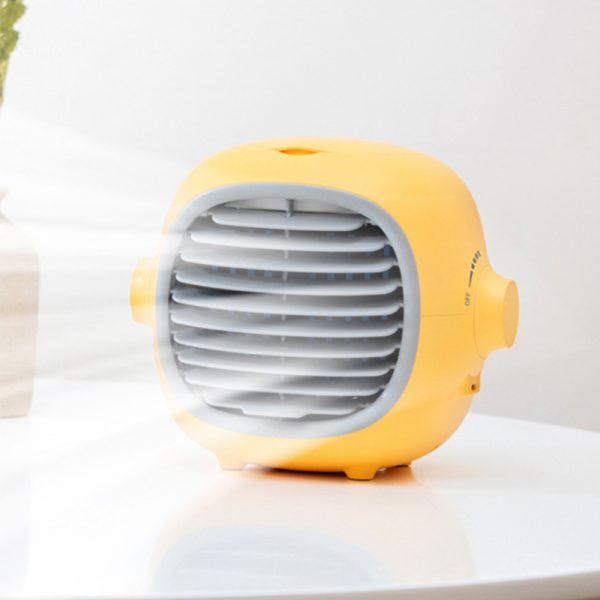 Portable Air Conditioner 200ml Tank Capacity Personal Cooling Fan_4