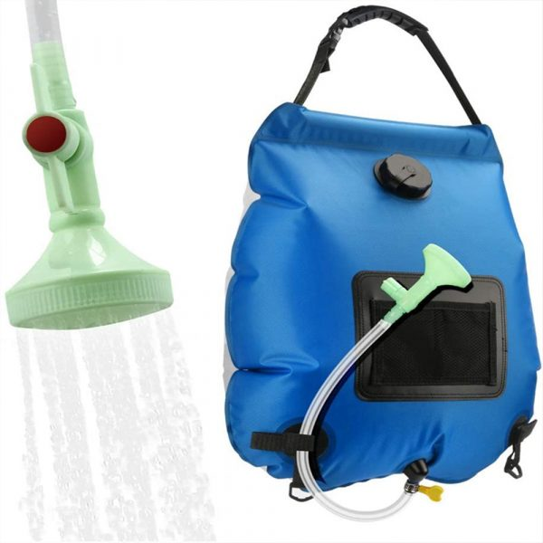 20L Outdoor Camping Hiking Portable Water Storage Shower Bag_0