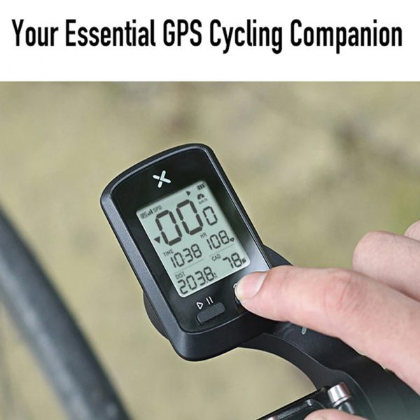 G+ Wireless GPS Bluetooth ANT+ with Cadence Cycling Odometer_2