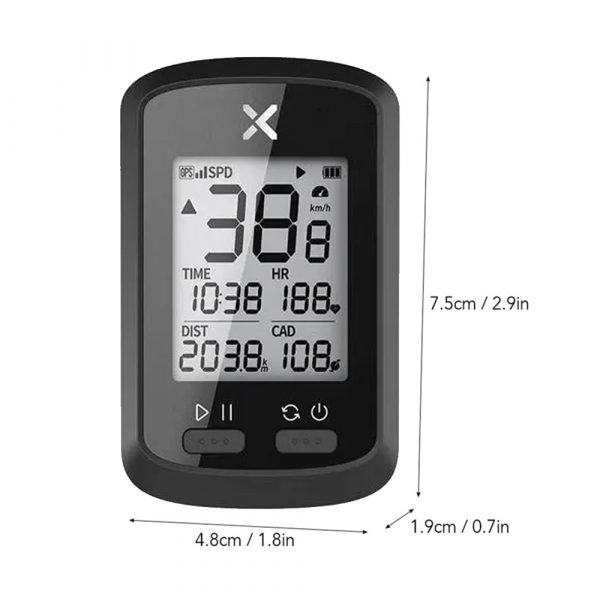 G+ Wireless GPS Bluetooth ANT+ with Cadence Cycling Odometer_8