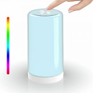LED Touch Control Dimmable Bedside Night Light USB Desk Lamp