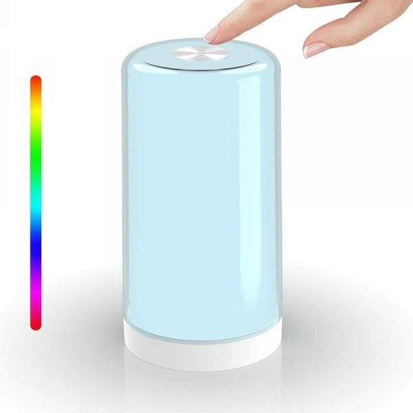 LED Touch Control Dimmable Bedside Night Light USB Desk Lamp_0
