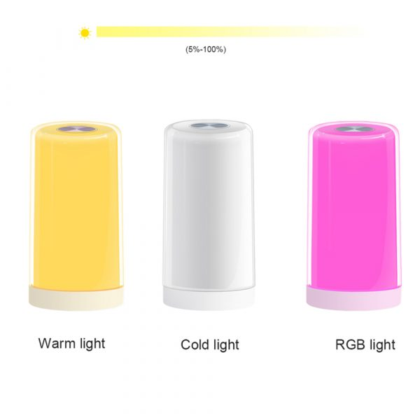 LED Touch Control Dimmable Bedside Night Light USB Desk Lamp_9
