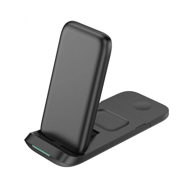 3-in-1 Fast Charging Wireless Charging Station for Qi Devices_2