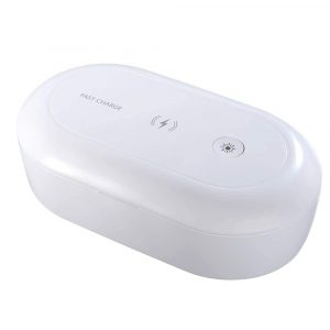 3-in-1 Multifunction Wireless Charger and UVC Disinfecting Box
