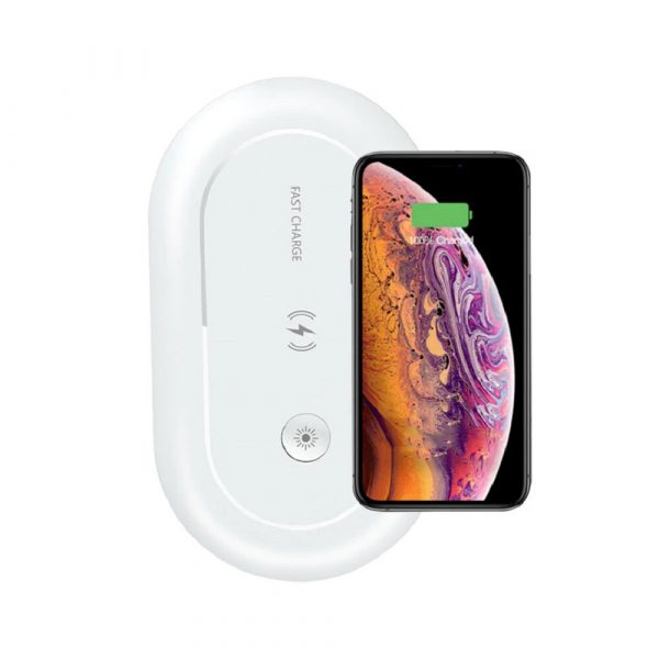3-in-1 Multifunction Wireless Charger and UVC Disinfecting Box_1