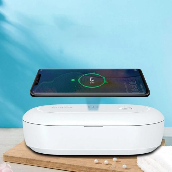 3-in-1 Multifunction Wireless Charger and UVC Disinfecting Box_2