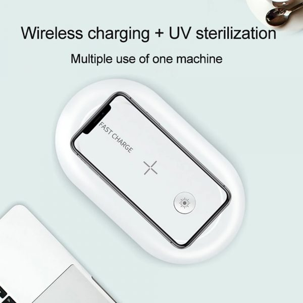 3-in-1 Multifunction Wireless Charger and UVC Disinfecting Box_5