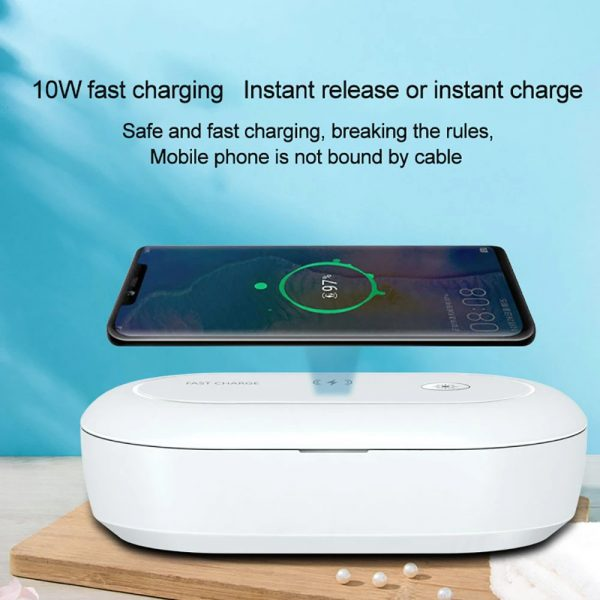 3-in-1 Multifunction Wireless Charger and UVC Disinfecting Box_13